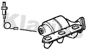 Catalyseur KLARIUS 380888 (X1)
