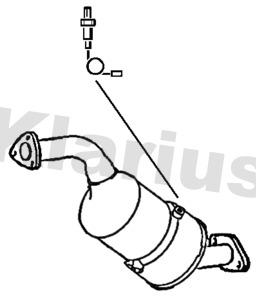 Filtre a particules - FAP KLARIUS 390484 (X1)