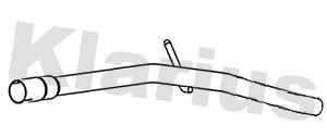 Tube d'echappement KLARIUS 120495 (X1)