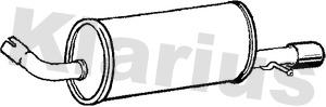 Silencieux arriere KLARIUS 210869 (X1)