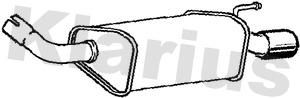 Silencieux arriere KLARIUS 221750 (X1)