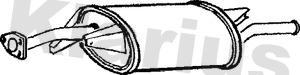Silencieux arriere KLARIUS 220614 (X1)