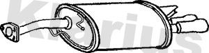 Silencieux arriere KLARIUS 220569 (X1)