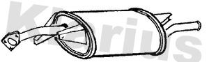 Silencieux arriere KLARIUS 220421 (X1)