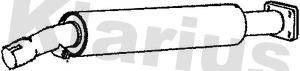 Silencieux central KLARIUS 210881 (X1)