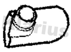 Tube d'echappement KLARIUS 110516