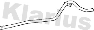 Tube d'echappement KLARIUS 150118 (X1)