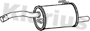 Silencieux arriere KLARIUS 211003 (X1)