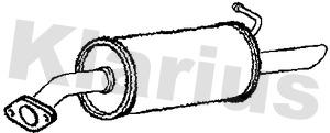 Silencieux arriere KLARIUS 211007 (X1)