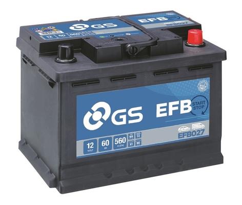 Batterie GS EFB027 (X1)