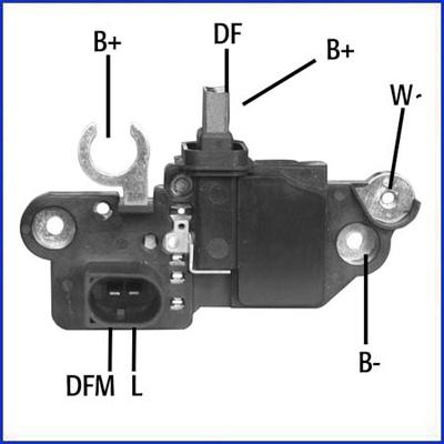 Regulateur d'alternateur HITACHI 130577 (X1)