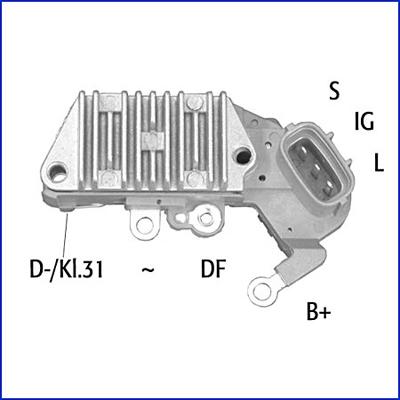 Regulateur d'alternateur HITACHI 132890 (X1)
