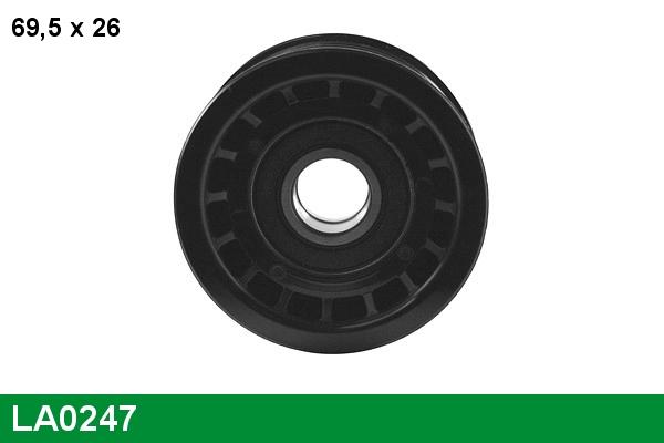 Galet tendeur accessoires LUCAS LA0247 (X1)
