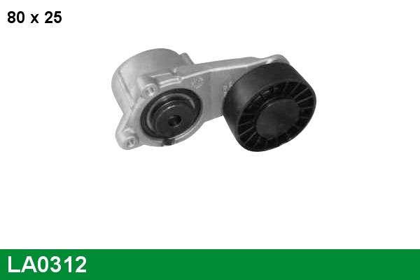 Tendeur de courroie d'accessoires LUCAS LA0312 (X1)