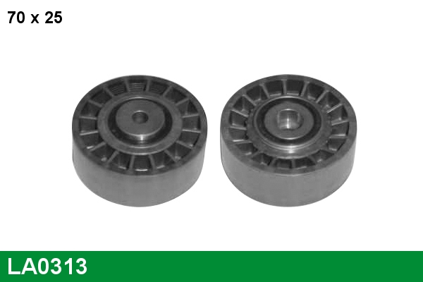 Galet tendeur accessoires LUCAS LA0313 (X1)