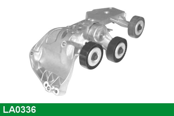 Galet tendeur accessoires LUCAS LA0336 (X1)
