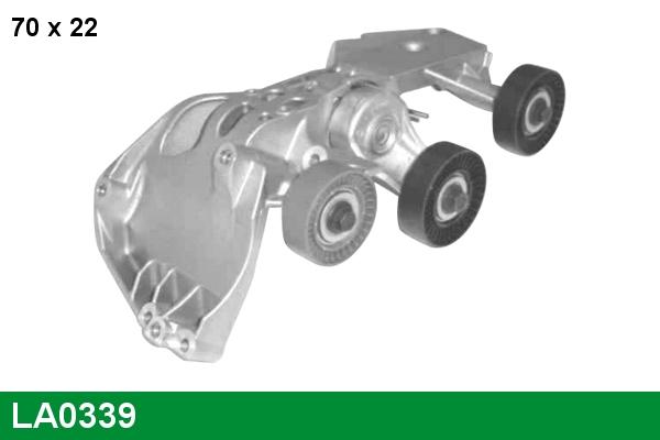 Galet tendeur accessoires LUCAS LA0339 (X1)