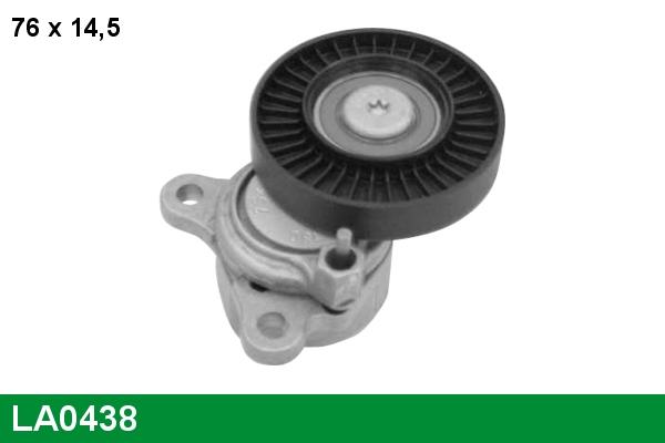 Galet tendeur accessoires LUCAS LA0438 (X1)