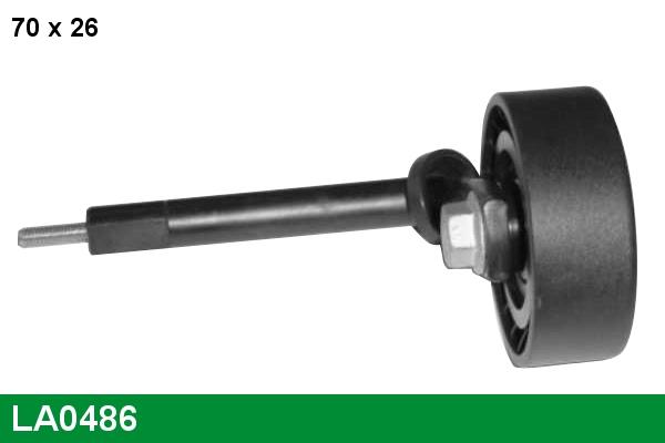 Galet tendeur accessoires LUCAS LA0486 (X1)