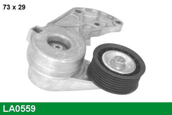 Tendeur de courroie d'accessoires LUCAS LA0559 (X1)