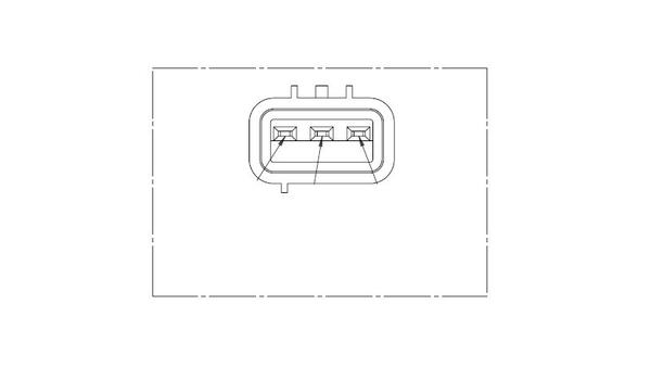 Capteur d'angle LUCAS SEB5042 (X1)