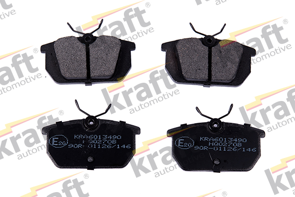Plaquettes de frein arriere KRAFT AUTOMOTIVE 6013490 (X1)
