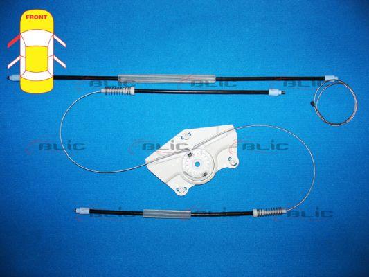Autres pieces leve vitre BLIC 6205-01-025807P (X1)