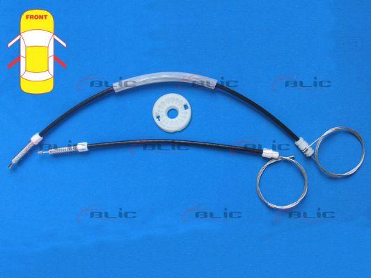 Autres pieces leve vitre BLIC 6205-08-016814P (X1)
