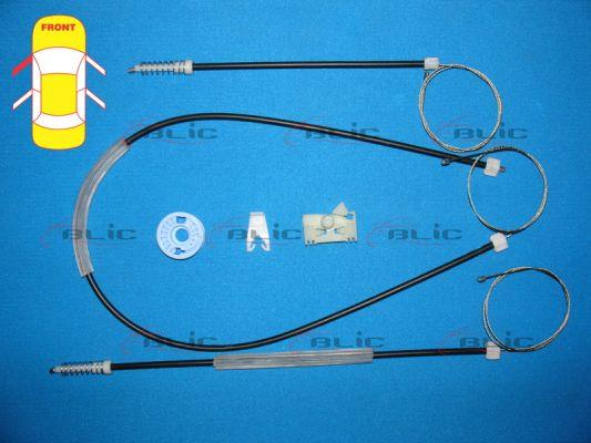 Autres pieces leve vitre BLIC 6205-08-017837P (X1)
