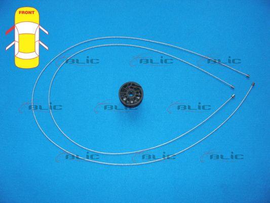 Autres pieces leve vitre BLIC 6205-09-048807P (X1)