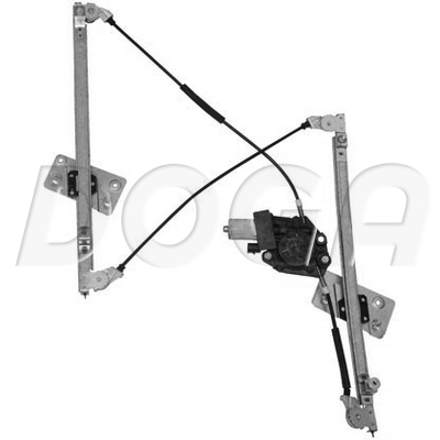 Mecanisme de leve vitre DOGA 100101 (X1)