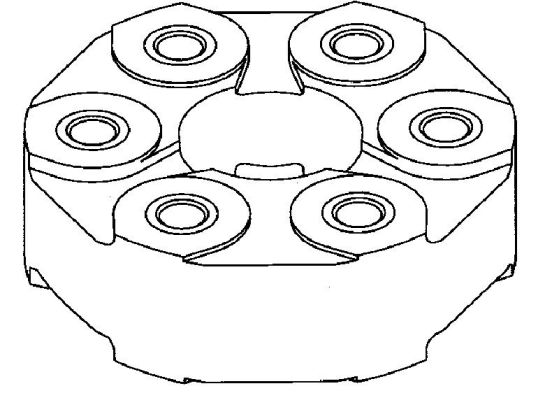 Flector de transmission TEDGUM 00221251 (X1)