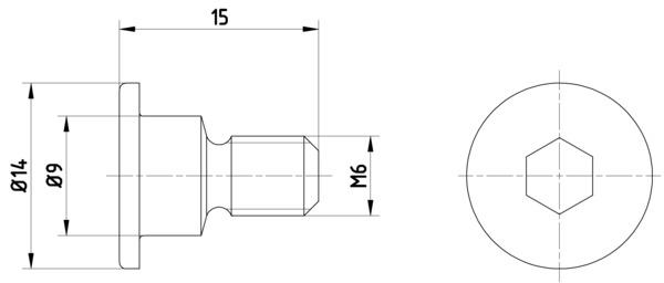 Vis disque de frein HELLA PAGID 8DZ 355 209-011 (X1)