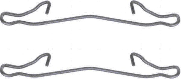 Etrier de frein HELLA PAGID 8DZ 355 201-161 (X1)