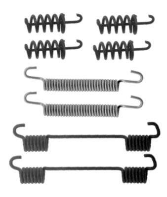 Kit d'accessoires mâchoires de frein de stationnement HELLA PAGID 8DZ 355 201-931 (X1)