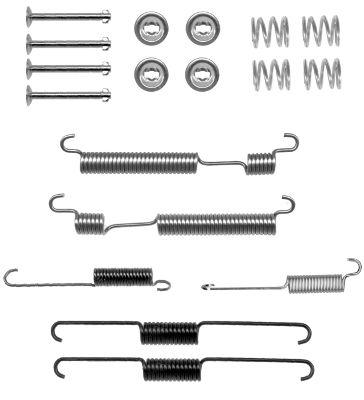 Kit de montage machoires de frein HELLA PAGID 8DZ 355 200-991 (X1)