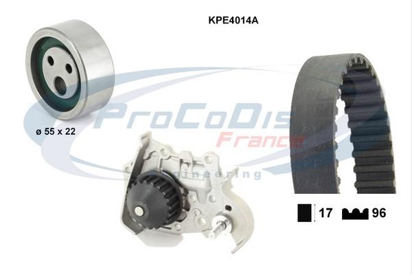 Kit distribution + pompe a eau SOLID PARTS KPE4014A (X1)
