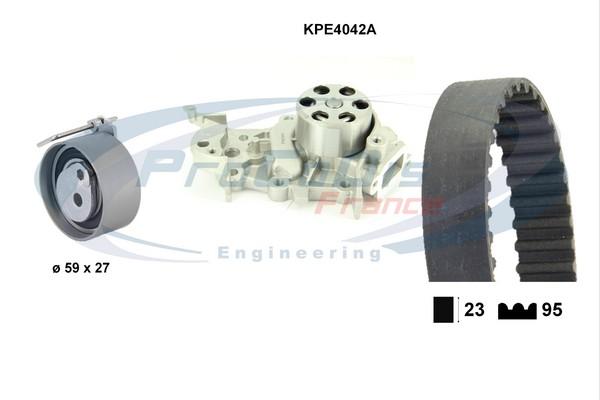 Kit distribution + pompe a eau SOLID PARTS KPE4042A (X1)