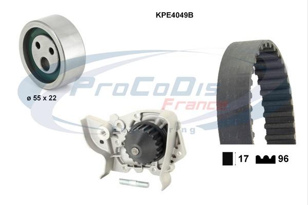 Kit distribution + pompe a eau SOLID PARTS KPE4049B (X1)