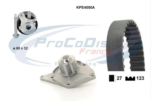 Kit distribution + pompe a eau SOLID PARTS KPE4050A (X1)