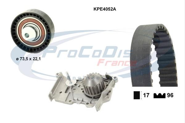 Kit distribution + pompe a eau SOLID PARTS KPE4052A (X1)