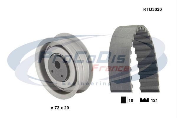 Kit distribution SOLID PARTS KTD3020 (X1)