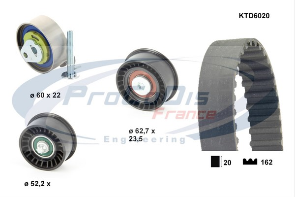 Kit distribution SOLID PARTS KTD6020 (X1)