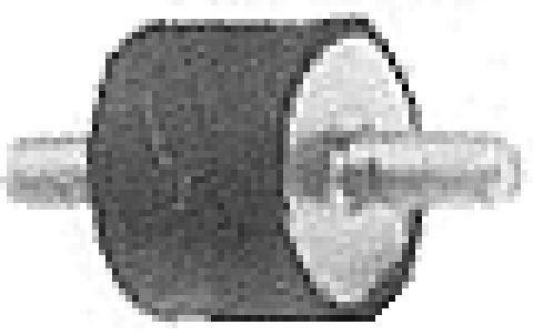 Silentbloc de pompe d'alimentation Metalcaucho 00449 (X1)