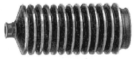 Soufflets direction - cremaillere Metalcaucho 00758 (X1)