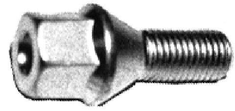 Ecrou / Boulon de roue Metalcaucho 00792 (X1)