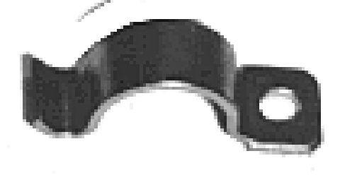 Support de silentbloc de stabilisateur Metalcaucho 00827 (X1)