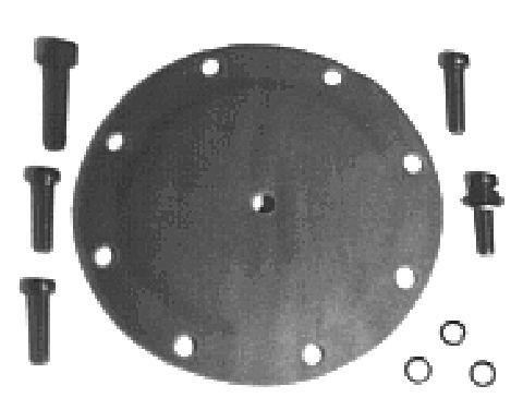 Diaphragme de pompe à vide Metalcaucho 00832 (X1)