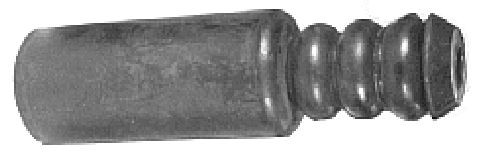 Soufflet protection amortisseur Metalcaucho 00998 (X1)