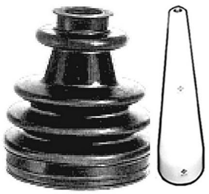 Soufflet de cardan Metalcaucho 01532E (X1)